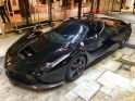 Black LaFerrari rumored to belong to Felipe Massa spotted in Monaco - ph