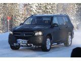 2012 Mercedes-Benz GL spied 24.02.2011 / Copyright SB-Medien