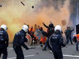 Brüksel sokakları fena karıştı