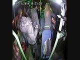 Otobüste alkol komasına girdi