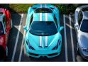 Ferrari 458 Speciale Tiffany Blue shows up at Ferrari of Newport Beach g