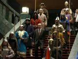 Saray'daki 16 asker neyi temsil ediyor?