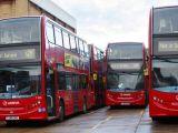 Londra'da otobüs şoförleri grevde