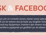 Facebook'ta sevgililer günü böyle geçiyor