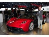Pagani Huayra live in Geneva with company founder Horacio Pagani - 01.03