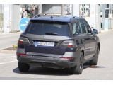 2012 Mercedes M-Class spy photos - 23.3.2011 / SB-Medien