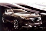 Peugeot Crossover Shanghai Concept leaked design sketches, 500, 05.04.20