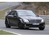 Mercedes-Benz C-Class Black Series mule Nurb. 06.04.2011 / Copyright SB-