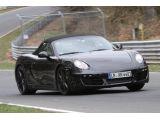2012 Porsche Boxster testing Nurburgring 11.04.2011 / Copyright SB-Medie