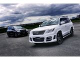 Lexus LX570 with Wald Sports Line Black Bison Edition styling package 22