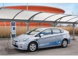 Toyota plug-in Prius for Paris 28.03.2011