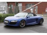 Audi R8 GT Spyder spied first time 17.05.2011 / Copyright SB-Medien