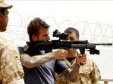 Beckham savaş bölgesinde
