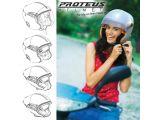 Jessica Dunn's Proteus folding helmet