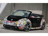 2011 Volkswagen New Beetle stickerbombed