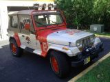 1995 Jeep Wrangler Sahara Jurassic Park