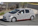 Toyota Prius C: Spy Shots