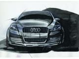 Audi Pikes Peak quattro concept car design sketch 06.01.2003