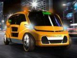 Geleceğin taksileri böyle olacak