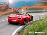 Ferrari 458 Spider artist rendering, 1024, 22.07.2011 / TeamSpeed.com