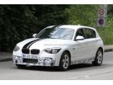 2012 BMW 1-Series with M-Sport-Package spied 04.08.2011 / Copyright SB-M