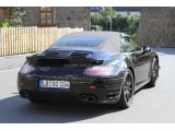 2013 Porsche 911 Turbo Cabrio spy photo - 18.8.2011 / SB-Medien