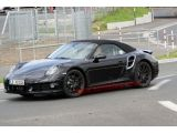 Spy Shots: Porsche 911 Turbo Cabriolet Photos