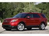 2012 Ford Explorer EcoBoost: First Drive Photos