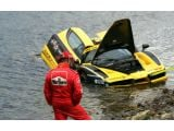 Ferrari Enzo crashes into Atlantic Ocean at 2011 Targa Newfoundland
