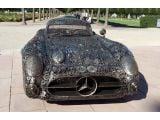 1955 Mercedes 300 SLR re-created from scrap metal