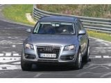 Audi Q6 chassis test-mule spied / Copyright SB-Medien