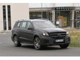 2012 Merecedes-Benz GL AMG spied / Copyright SB-Medien