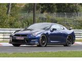 2013 Nissan GT-R Evo or SpecR variant spied on the ring / Copyright SB-M