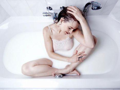 самые лучшие фото в ванной с молоком