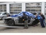 2012 BMW M6 prototype crashes again on the Nürburgring-Nordschleife