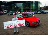 Audi celebrates ten millionth midsize car