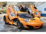 McLaren MP4-12C GT3 first time on Nürburgring