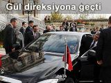 Abdullah Gül direksiyona geçti