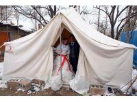 Deprem bölgesinde düğün sevinci