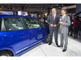 2013 Honda Fit EV makes L.A. debut