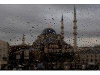 Islak İstanbul fotoğrafları