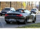 BMW M6 Cabrio caught topless