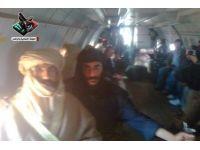 Seyfülislam Kaddafi'nin uçaktaki fotoğrafları