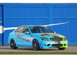 Blue-Green Mercedes-Benz C63 AMG by Wimmer RS