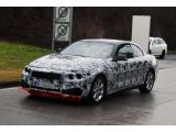 BMW 4 Series Convertible: Spy Shots