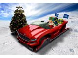 Ford Ecoboost concept sleigh proposes Santa to slash his carbon footprin