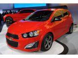 2013 Chevrolet Sonic RS: Detroit 2012