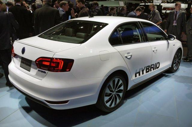2013 Volkswagen Jetta Hybrid Detroit 2012 Foto Galerisi Resim 1
