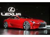 Lexus LF-LC Concept: Detroit 2012