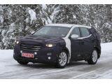 2013 Hyundai ix45 / Santa Fe spied winter testing